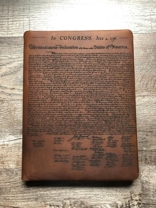 Founding Fathers Executive Cut - Refillable Leather Folio