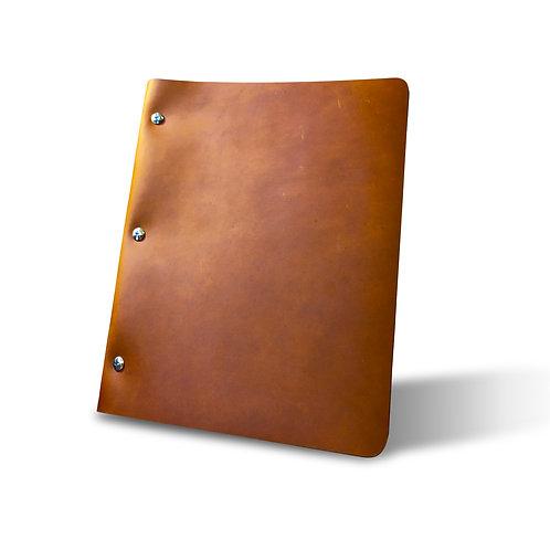 Campfire Slim Cut - Refillable Leather Binder