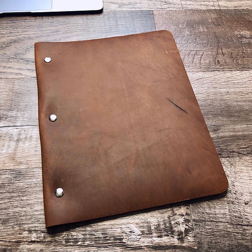 Imperfects Slim Cut - Murdy No. 1 Refillable Leather 3-Post Binder