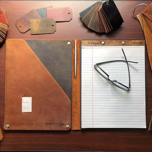 Upgrade to Murdy No. 3 Refillable Leather Folio