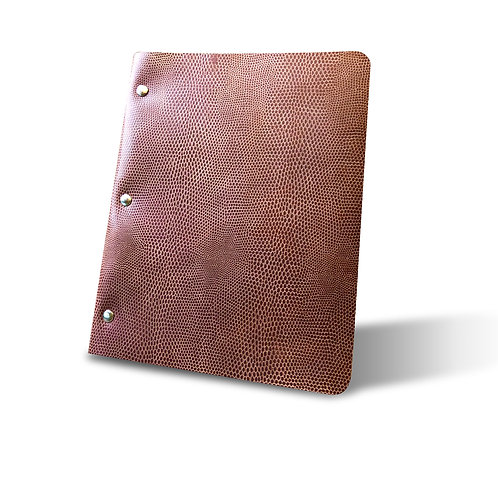 Special Edition Slim Cut - Refillable Leather Binder