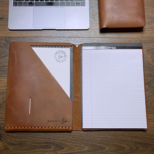Imperfect Executive Cut - Refillable Leather Folio