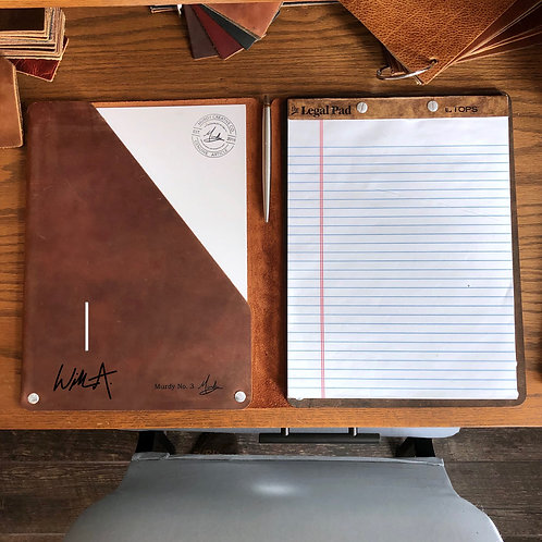 Murdy No. 3 Refillable Leather Folio - Signature Edition