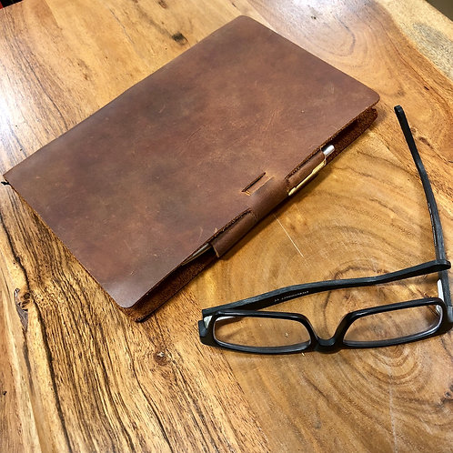 Murdy No. 2 Refillable Leather Journal - Signature Edition