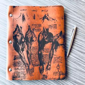Da Vinci Masters Collection Leather Binder