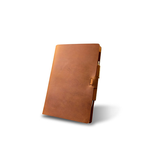 Campfire Classic Cut - Refillable Leather Journal