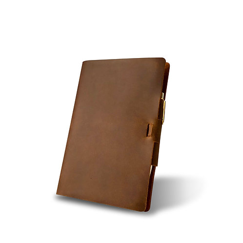 Classic Cut - Murdy No. 2 Refillable Leather Journal - Ellicott & Co.