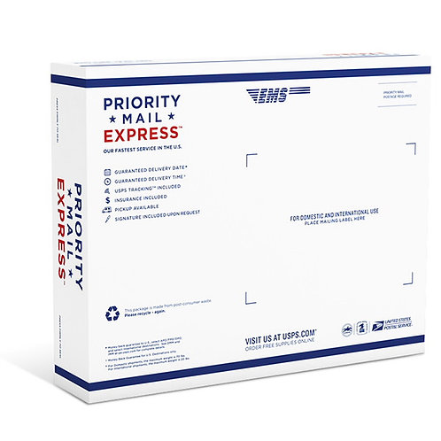 Upgrade regular shipping to Priority Express Shipping