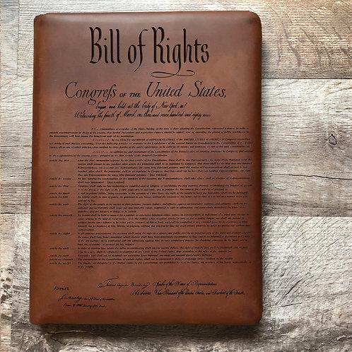 Constitution Executive Cut - Refillable Leather Folio