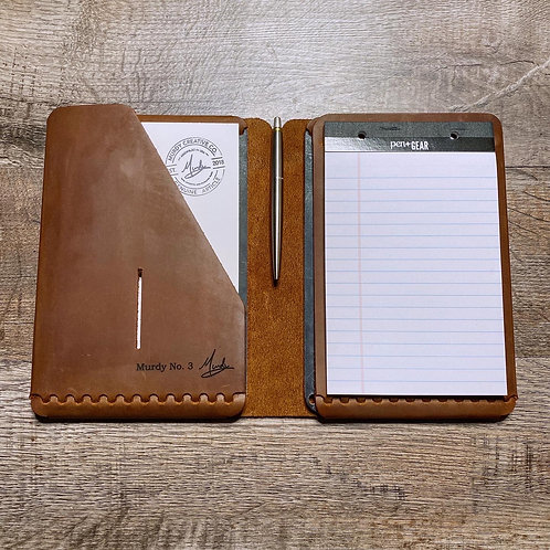 Imperfect Travel Cut - Refillable Leather Folio