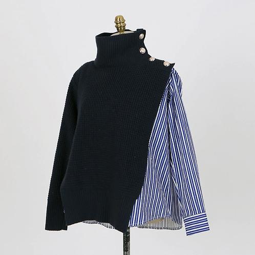 Sweater Shirt Combination