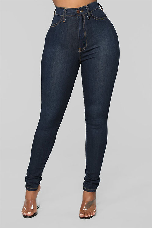 Skinny Dark Blue Denim
