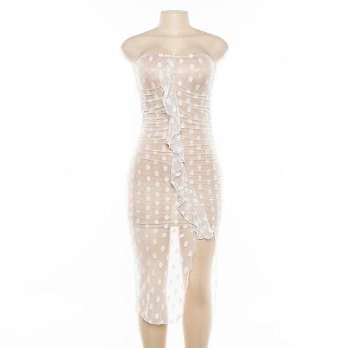 Mesh Dot dress
