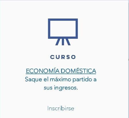 registro curso - economia domestica - iniciativa cadiz social