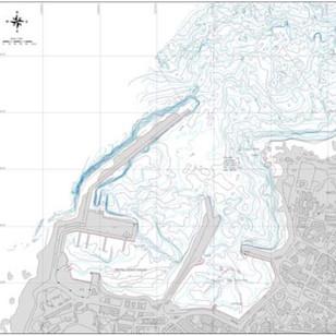 Morphobathimetric and topographic surveys, Port of Pantelleria (TP)