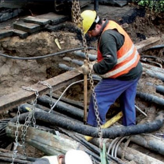 Water distribution and sewerage network completion in Taranto, V part