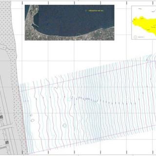 Bathimetric survey for a pier in Giammoro (ME)