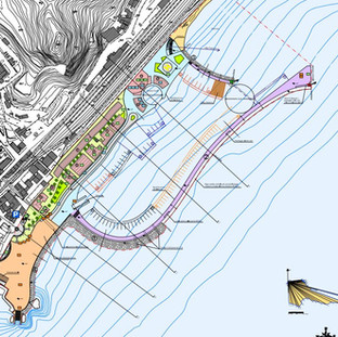 Taormina Marina - Supoer Yacht Berthings and Village