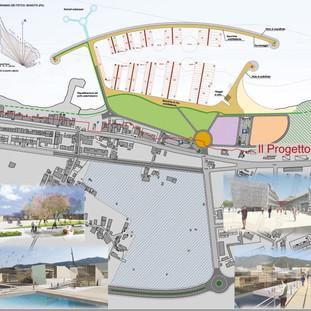 Waterfront and marina at Bandita (PA)