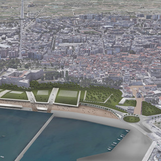 Waterfront restoring in Barletta