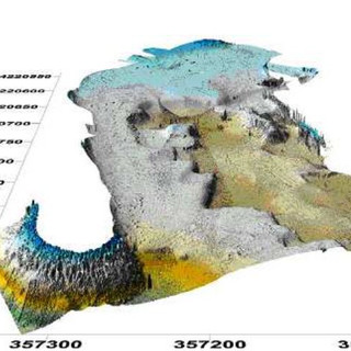 Morphobathimetric survey of channel in Commercial Port of Palermo