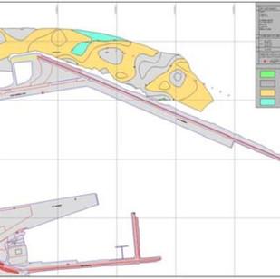 Morphobathymetric and topographic surveys, Termini I. Port (PA)