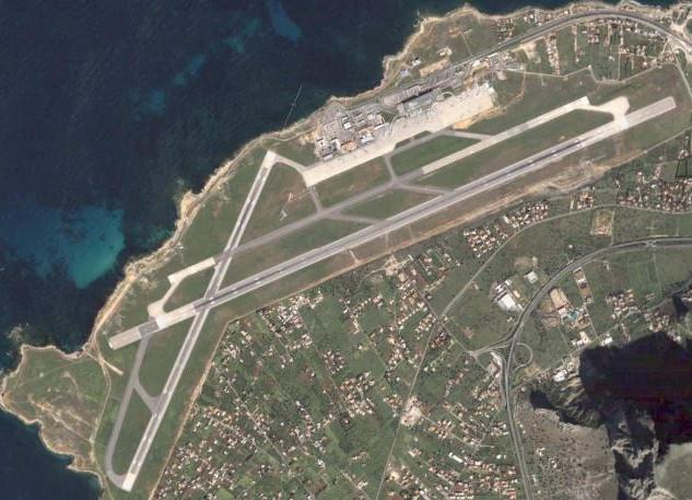 Maintenance aircrafts area in Falcone Borsellino Airport (PA)