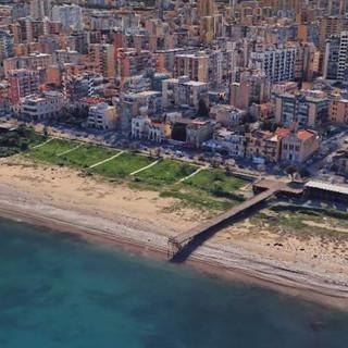 Urban sewage system in via Messina Marine, Palermo
