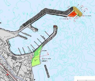 Enlargement of S. Nicola l'Arena Marina, Trabia (PA)