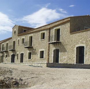 Ancient building restoring in Castellammare d.G. (TP)