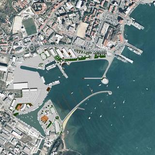 Marina and waterfront on Portoferraio, Elba Island (LI)