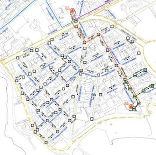 COMPLETION OF THE WATER AND SEWAGE NETWORK AT SERVICE OF TORRE MOZZA AND OTHER VILLAGES IN LECCE PROVINCE