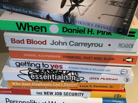 My top 5 books of 2019