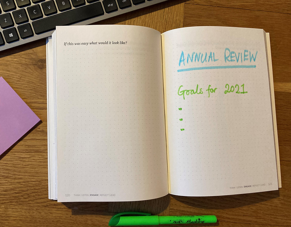 RYSE JOURNAL - Annual Review and Goals
