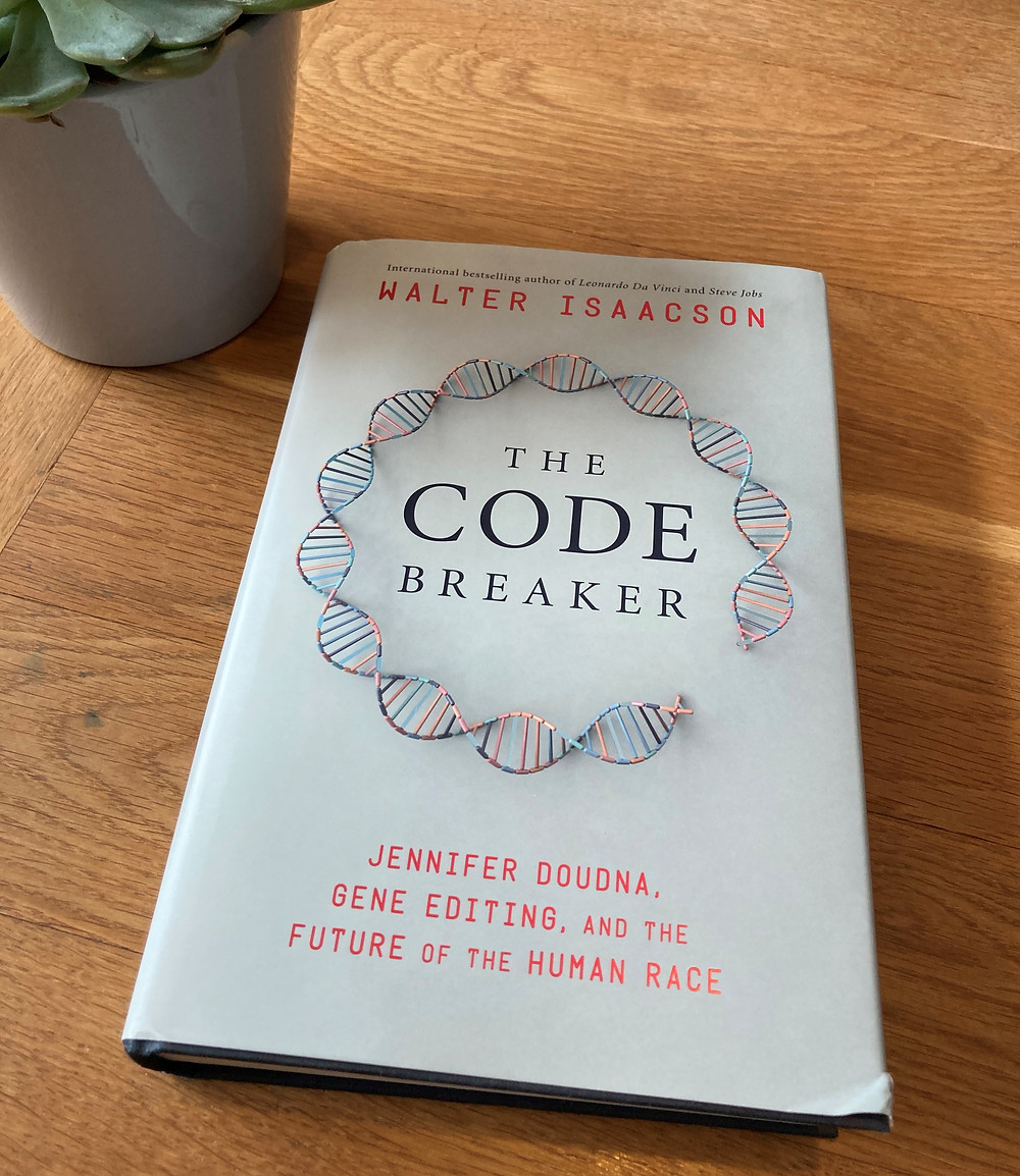 Picture of The Code Breaker book.