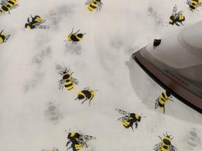 It bee a pressing cloth