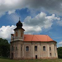 Barokní kostel v Šonově