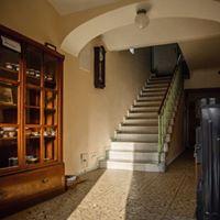pískovcové schodiště 1925
