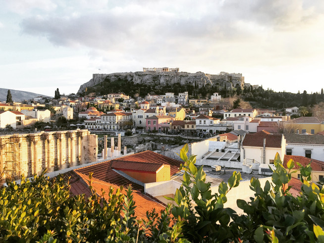 24h in Athens; a city that is more than a city.