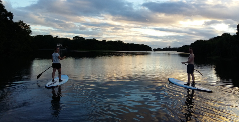 Real Mauritius stand up paddle and kayak excursion mauritius Tamarin River