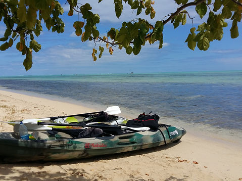 Stand up paddle, kayak and bicycle rental mauritius