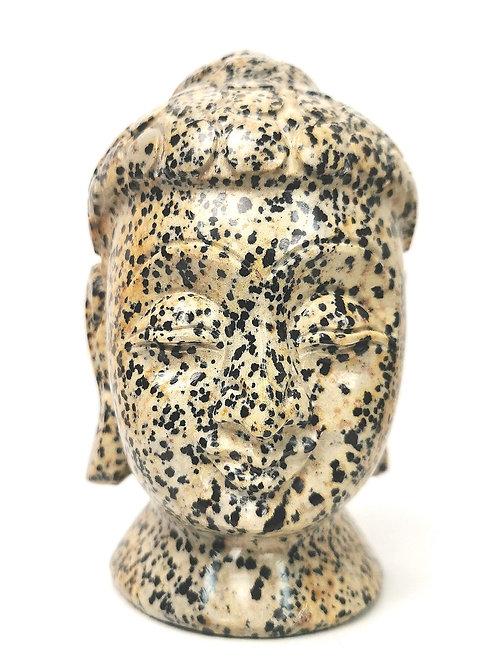 BH 3   Buddha Head   Dalmatian Jasper