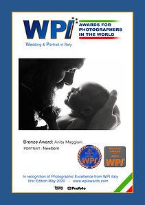 Third Place Newborn WPI Anita Maggiani
