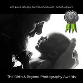 Second place Unposed Newborn Anita Maggiani Birth and Beyond