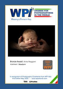 Bronze Award WPI Maggiani