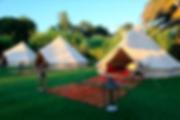 Les tentes de luxe