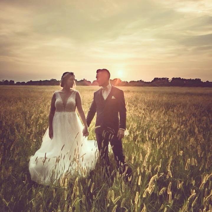 Photos mariés au domaine