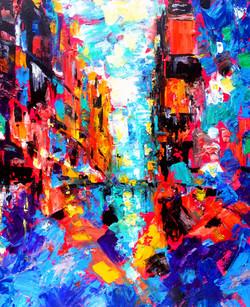 City Never Sleeps. Series New York, New York