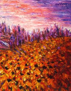 Sunflowers 14x11