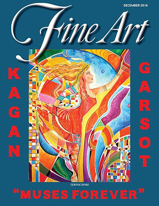 ArtSynergism | Unique Fine & Decorative Art by Garsot & Helen Kagan @ FineArt Mag. Dec. 2016